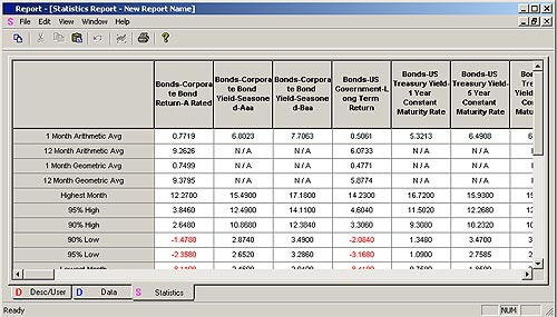 DynaPorte - Strategic Asset Allocation Tool - Details